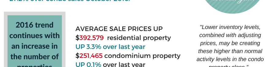 Ottawa Real Estate Update   Condo sales lead the way to best October on record!